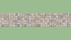 Flower tiles