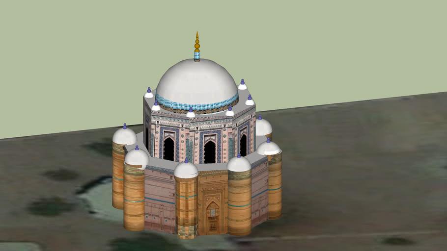 Tomb Shah Rukne Alam Multan Pakistan