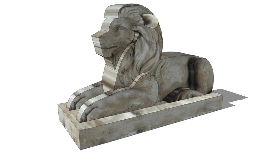 lion, maisons du monde, ref 130511 prix 119€