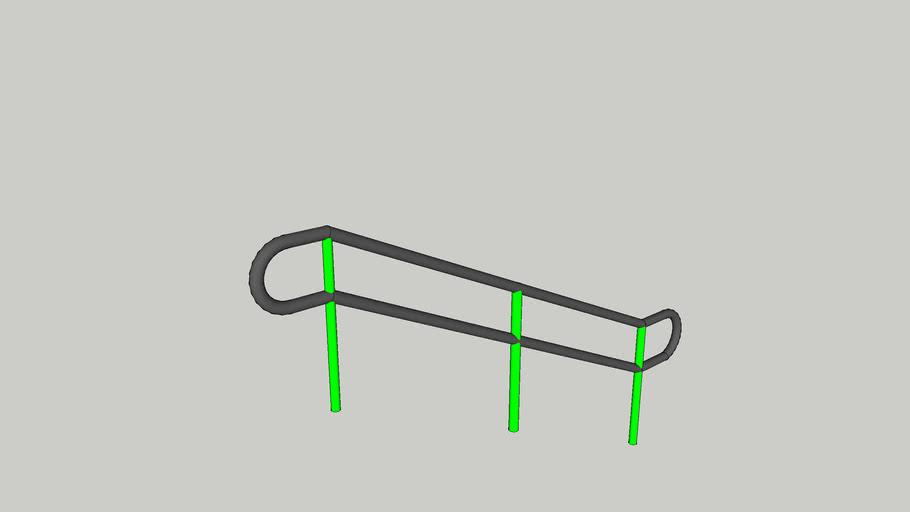 Big Donkey Kink Handrail