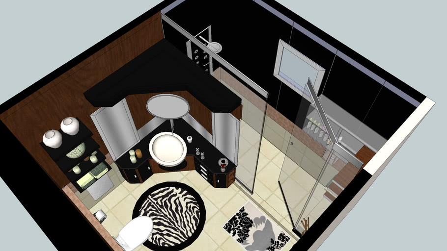 Bathroom design by Amy Najm