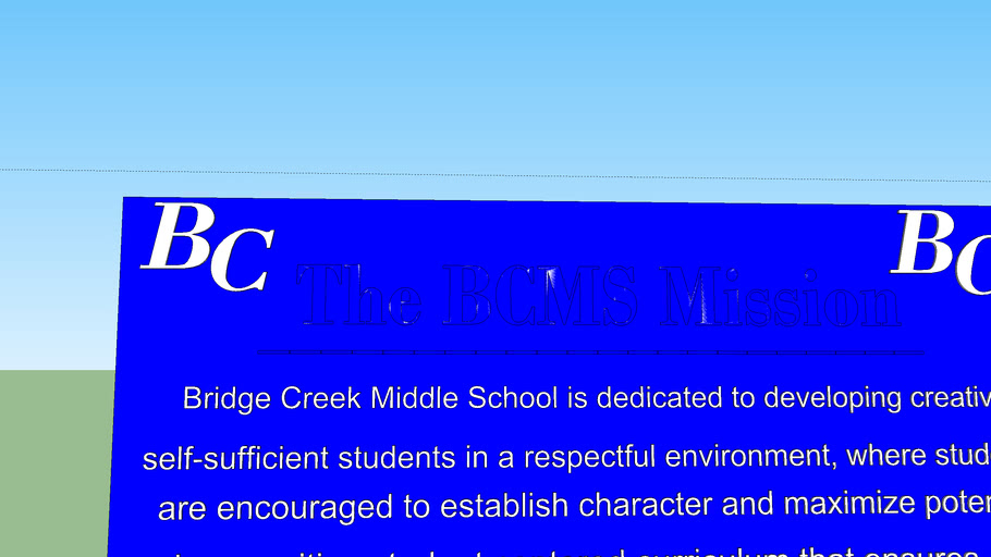 bridge creek banner