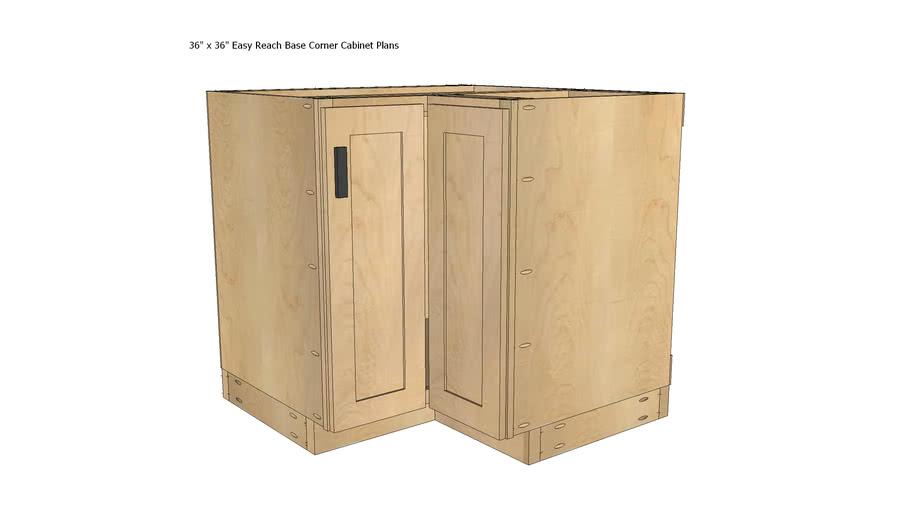 Kitchen Base Cabinet Plans 36x36 Easy, Basic Kitchen Cabinets Plans