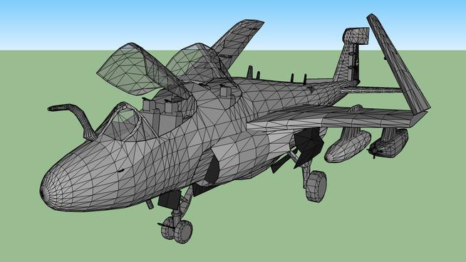 Military plane - Grumman EA-6B Prowler