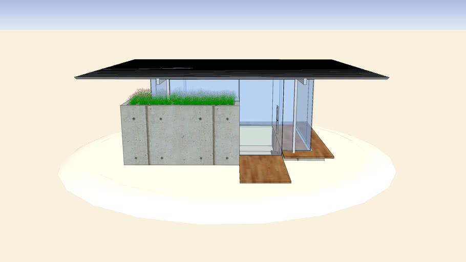 Sunken Glass Shelter