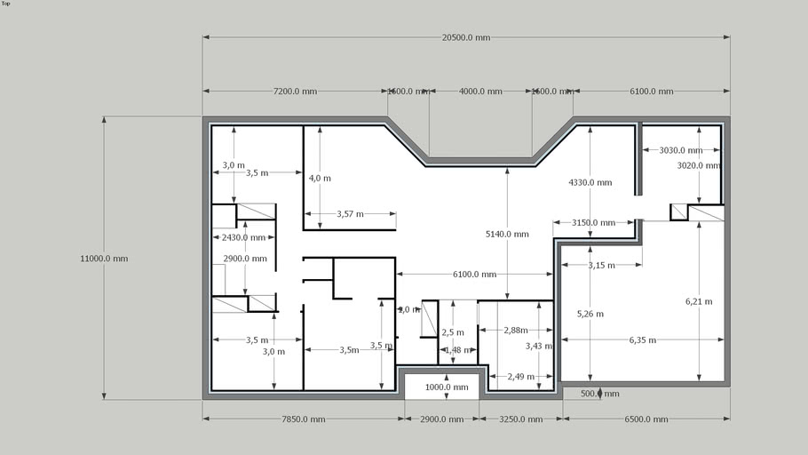 Plan Maison 3d Warehouse