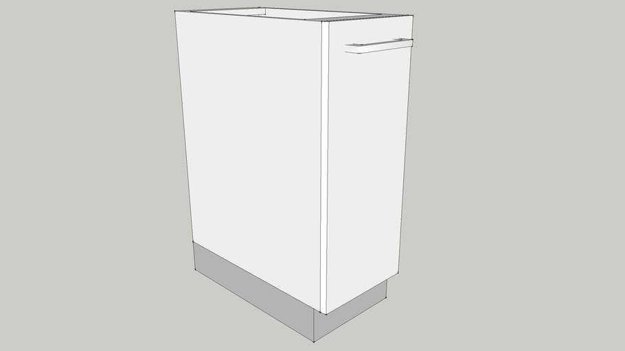 300 Base Module with Bottle Pull Out 300X560X700 CID_CP10000020