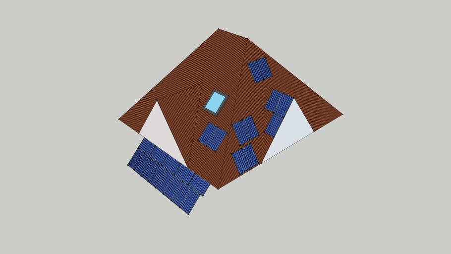 *КиевОбл компоновка солнечной системы на крыше с навесом Roof with solar panels Avante.com.ua avante99 GeoPoleUA