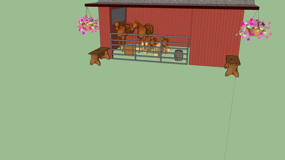 Hannah Montana's Barn