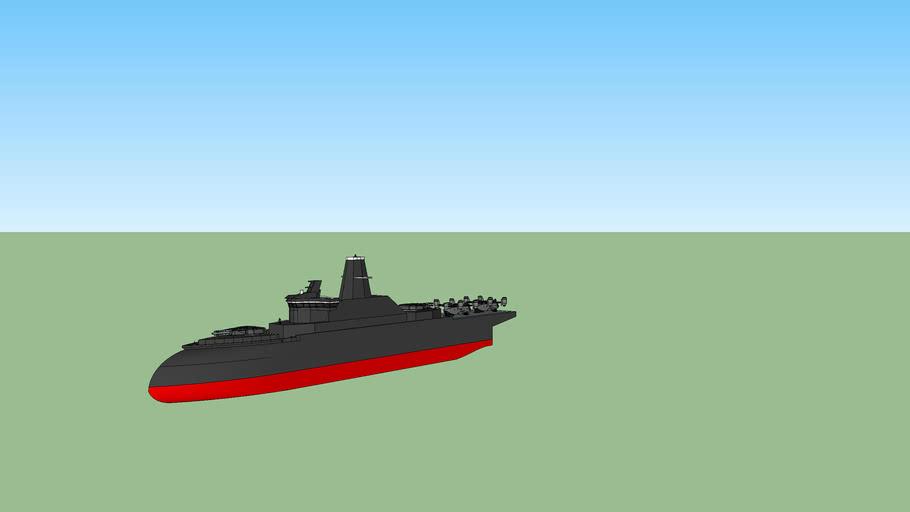 Inverted Bow Amphibious Assault Warship
