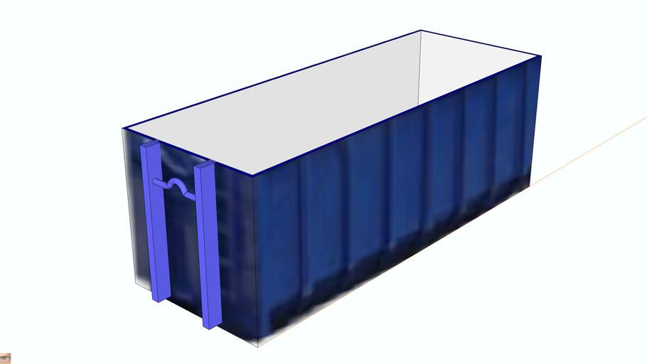 Kontejner Abroll 36m3 6500x2400x2300mm