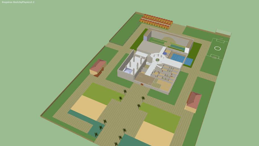 palacio imperial en construción (adrianopolis augusta)