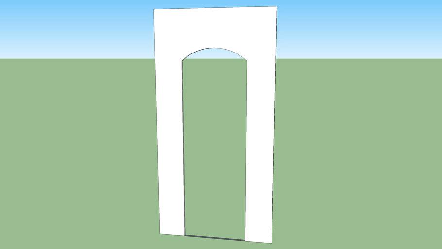 Allen Academy Arched Doorway