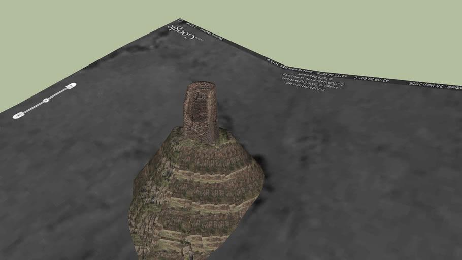 watchtower in gergeti