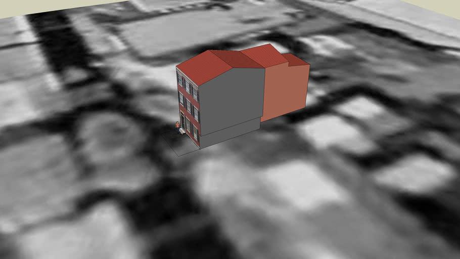 Brick Row House
