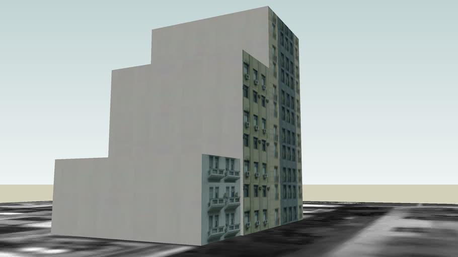 Conjunto de edificios ( Avenida 9 de Julio, Buenos Aires , Argentina )