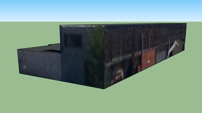 Building in Videla 2001, Las Heras, Mendoza Province, Argentina