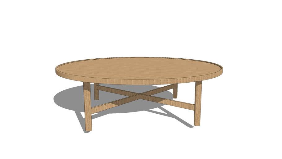 Etta Grande Table Basse Ronde Habitat 3d Warehouse