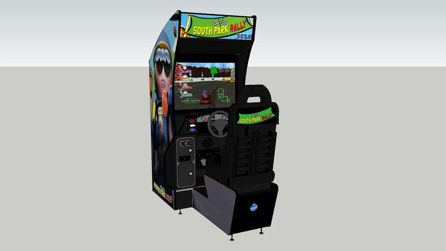 South Park Rally Arcade Game