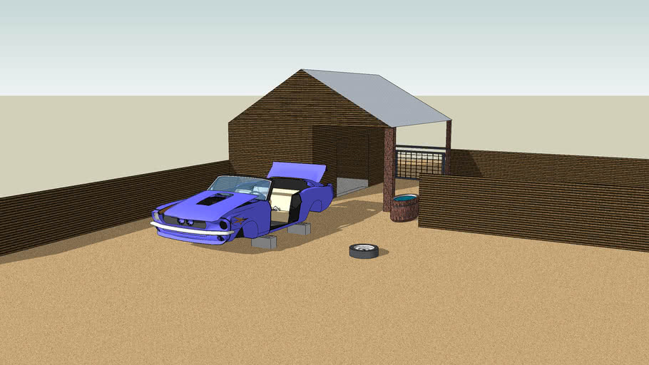 Barnyard Mustang