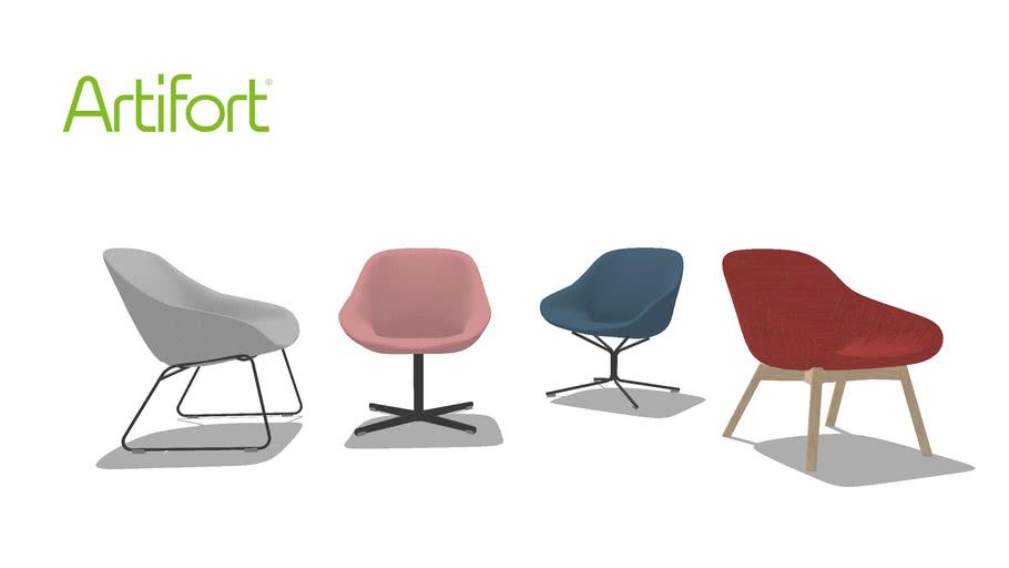 Geoffrey Harcourt Voor Artifort Design Fauteuil.Artifort Beso Lounge Khodi Feiz Design 2015 3d Warehouse