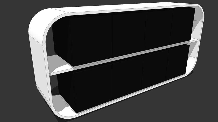 MOLODESIGN - Sideboard 8 doors