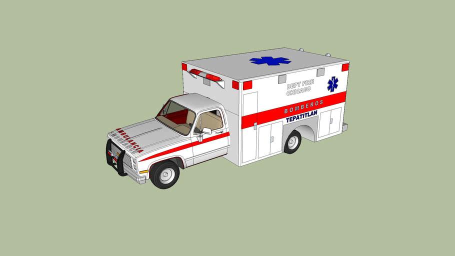 ambulancia de bomberos de tepatitlan de morelos jalisco