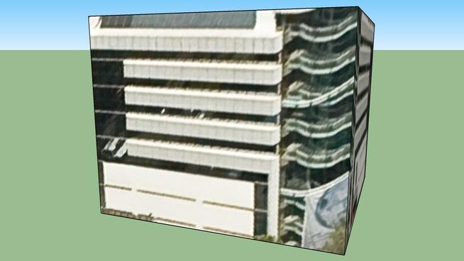 Building in Mexico City, Distrito Federal, Mexico