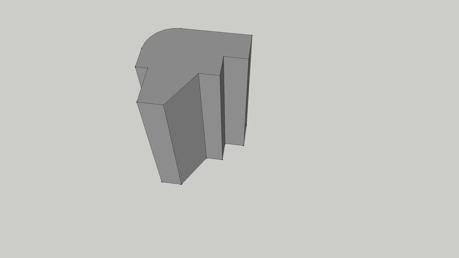 02 - Teziste kamenog stupa.skp