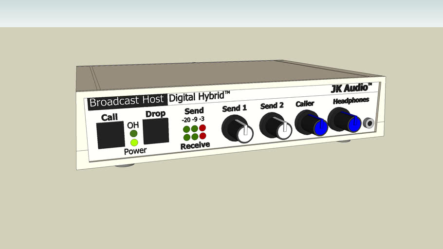 JK Audio Broadcast Host Digital Hybrid
