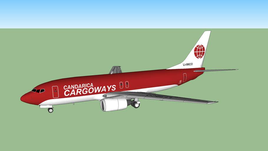 Candarica Cargoways 737-4KF(SP) (2015)