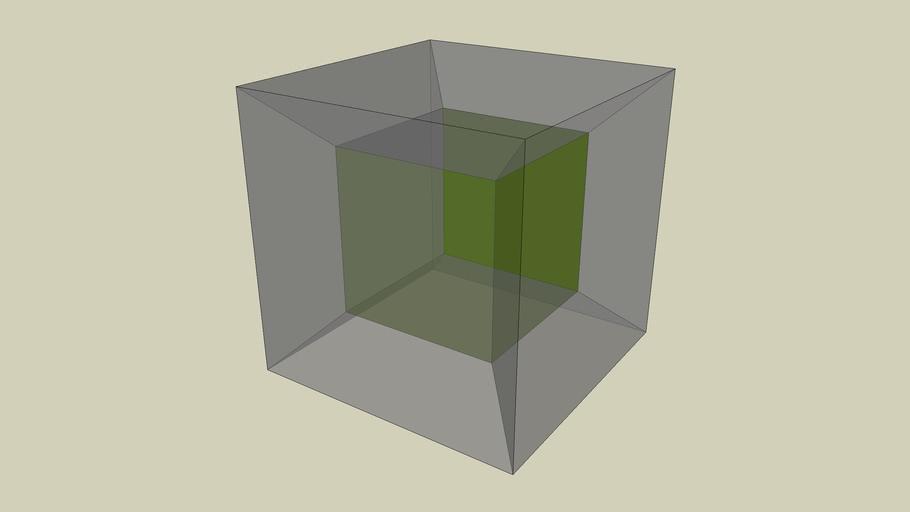 Ilaria - 4D Cube - Cubo in 4D - Tesseract
