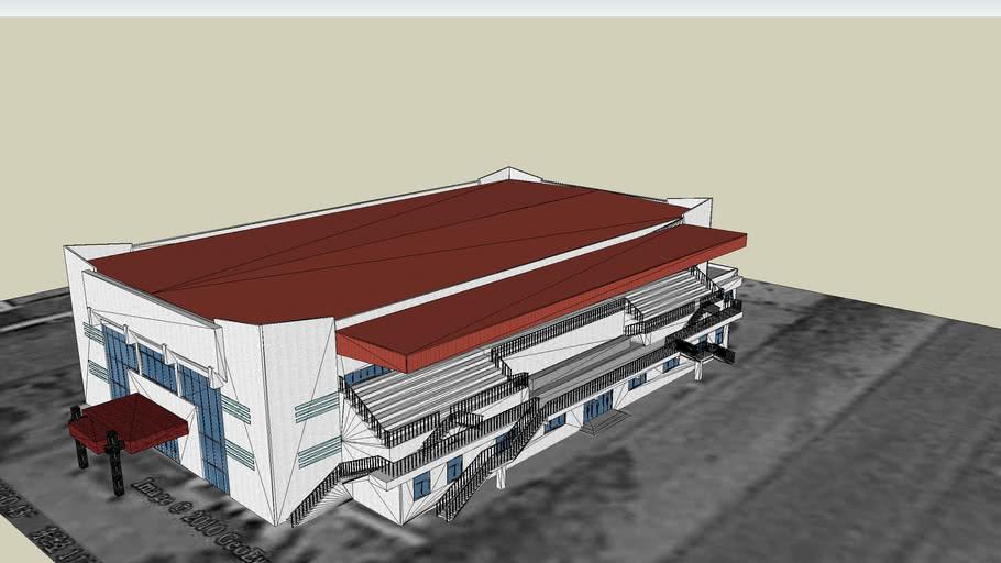 黄河科技学院第一体育馆