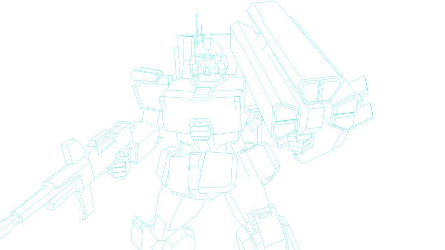 Gundam RX-79 Ez-8