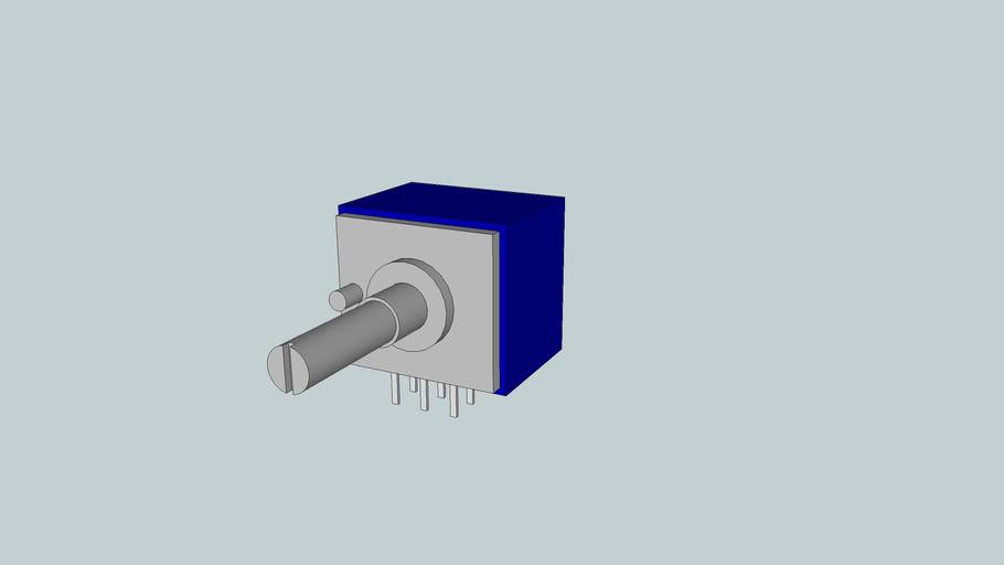 ALPS Blue Potentiometer