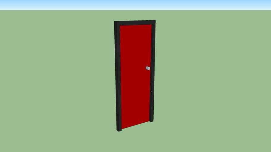 door / deur