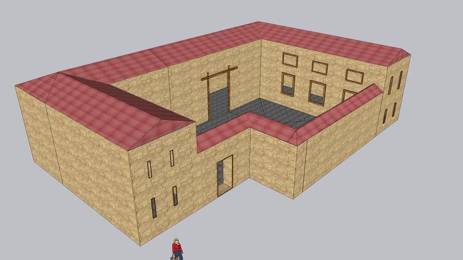 Greek House set |Greek building