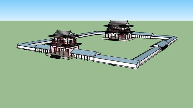 多賀城ーJapanese Taga Castle