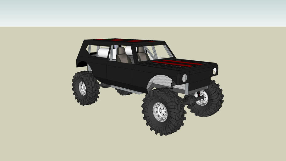 Modified International Harvester Scout II