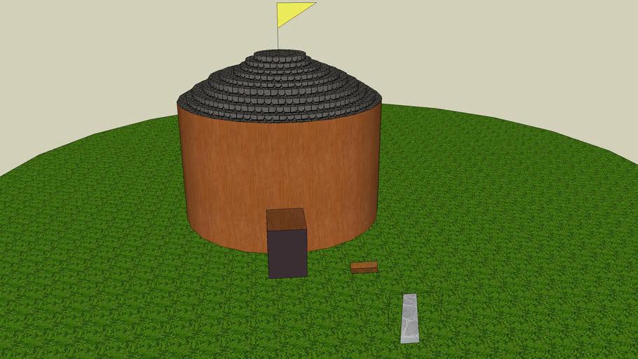 moon hut