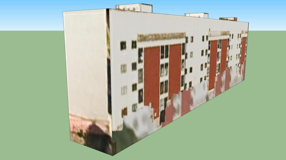 Bâtiment situé Mexico, District fédéral, Mexique
