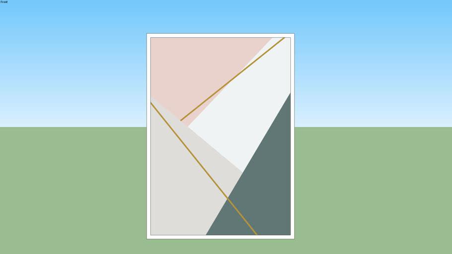 Quadro Geométrico Minimalista Spring 05