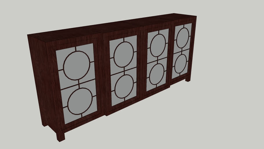 Art Deco Inspired Sideboard/Cabinet