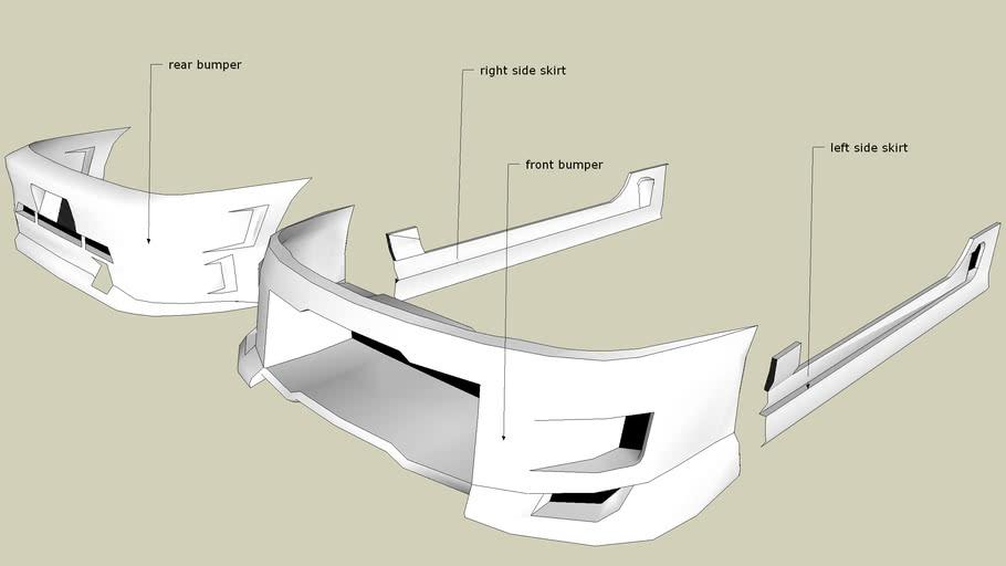 Bodykits from best-lemming's Acura Integra