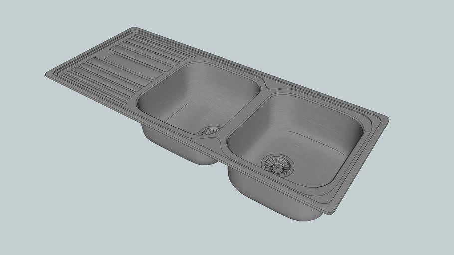 DL200 - Deluxe 200 - Kitchen Sink - Abey