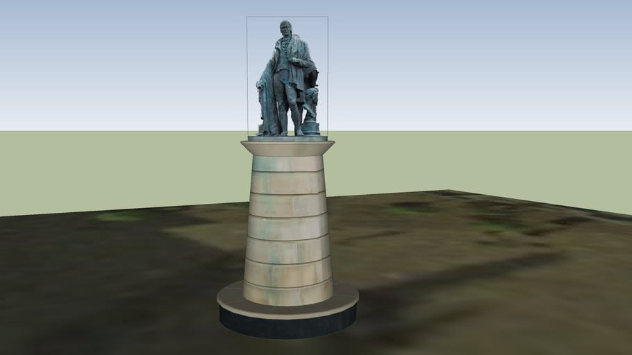 Burns Statue, Kilmarnock Cross