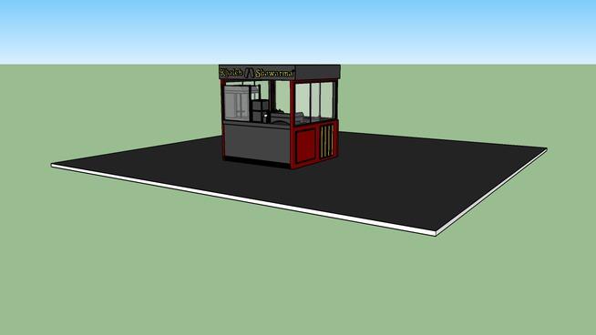 Food Kiosk | 3D Warehouse