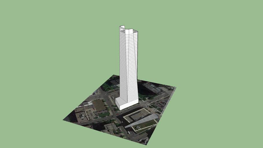 Nicollet Hotel Block Skyscraper