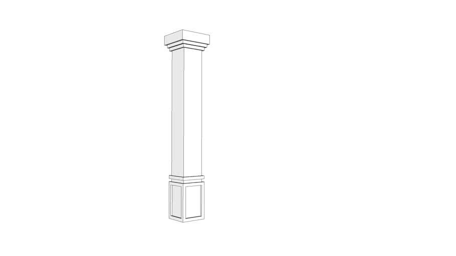 Coluna clássica 35x35