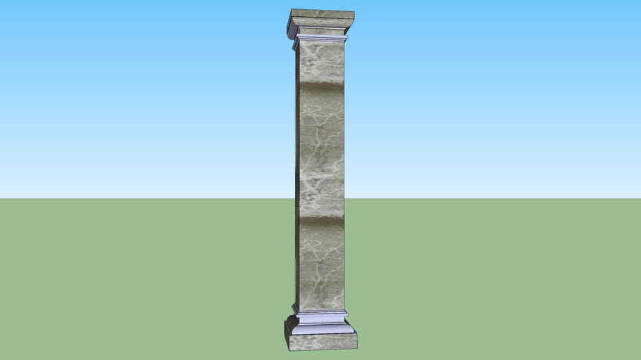 Columna cuadrada